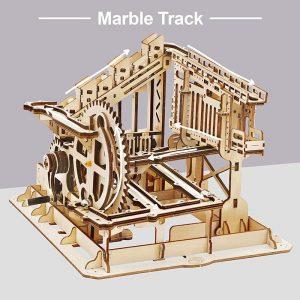 Marble Run - Cog Coaster - 3d model puzzle