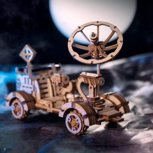 Moon Buggy - 3d model puzzle