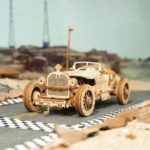 Grand Prix Car - 3d model puzzle